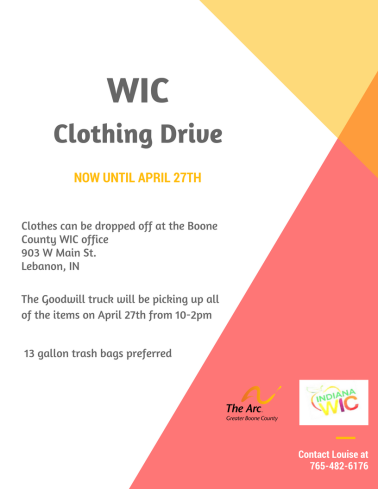 WIC clothing drive flyer.png