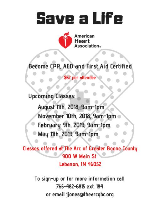 CPR flyer