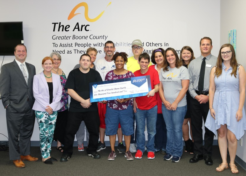 The Arc of Greater Boone County receives $6,500 from the Gordon Flesch Charitable Foundation